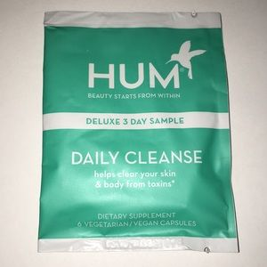 SEPHORA HUM DAILY CLEANSE BEAUTY - 3 DAY SAMPLE ✨